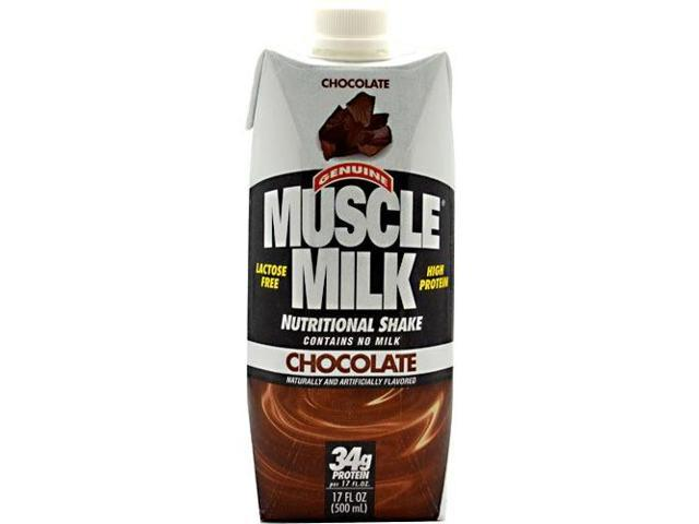 Muscle Milk RTD Chocolate - Case - Cytosport - 17 oz/12 Servings - 1 Case