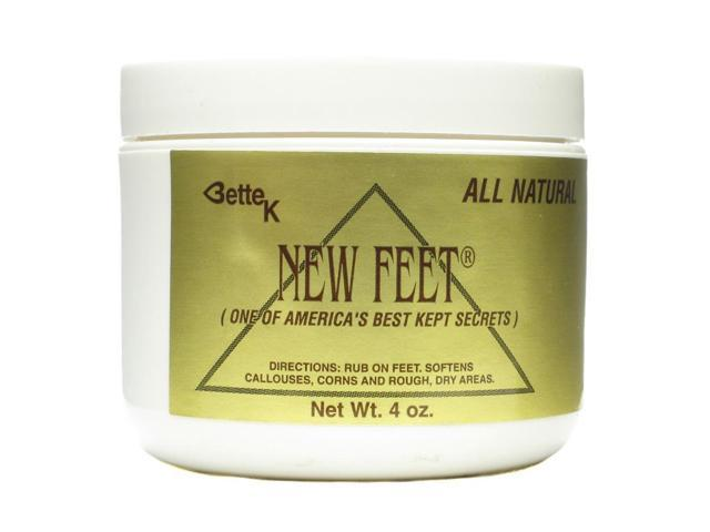 Bette K's New Feet - Bette K's - 4 oz - Cream