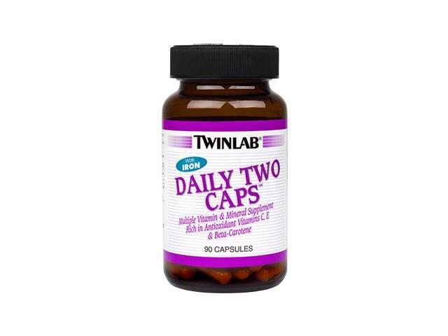 Daily Two - Twinlab, Inc - 90 - Capsule