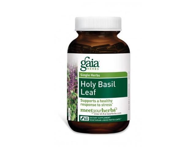 Holy Basil Leaf - Gaia Herbs - 120 - VegCap