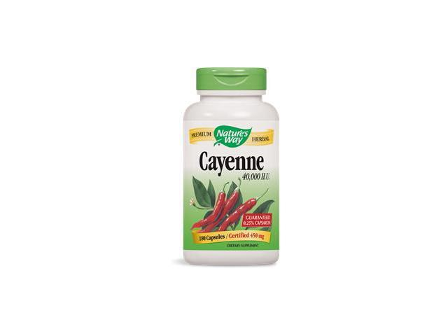 Cayenne Pepper - Nature's Way - 180 - Capsule