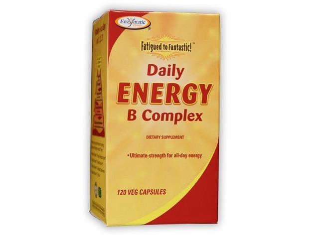 Fatigued to Fantastic Daily Energy B Complex - Enzymatic Therapy Inc. - 120 - Capsule