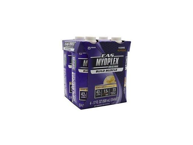 Myoplex  Ready-to-Drink French Vanilla - EAS - 4-17 oz. - Liquid