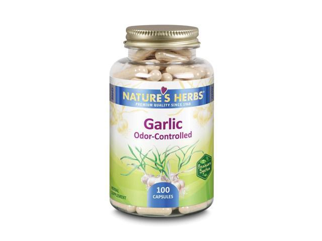 Garlic Odor Controlled - Nature's Herbs - 100 - Capsule