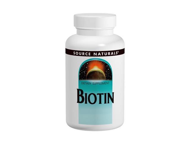 Biotin 600mcg - Source Naturals, Inc. - 200 - Tablet
