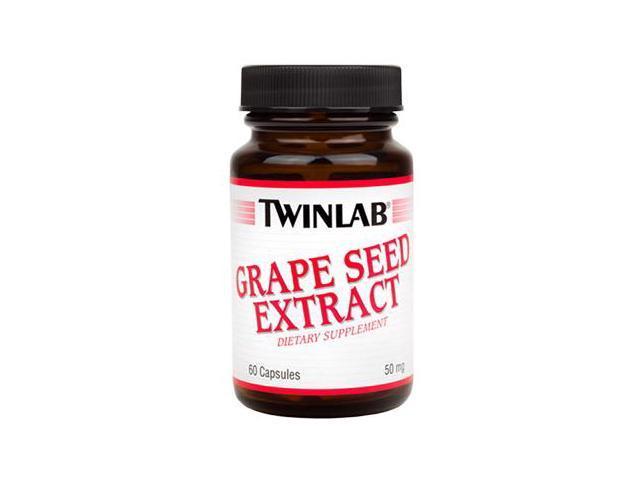 Grape Seed Extract 50mg - Twinlab, Inc - 60 - Capsule