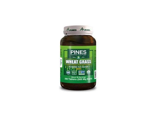 Pines International 715029 Wheat Grass 500 Mg 250 Tablets