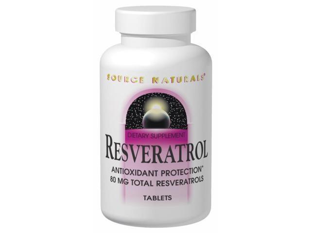 Resveratrol 80 mg - Source Naturals, Inc. - 120 - Tablet