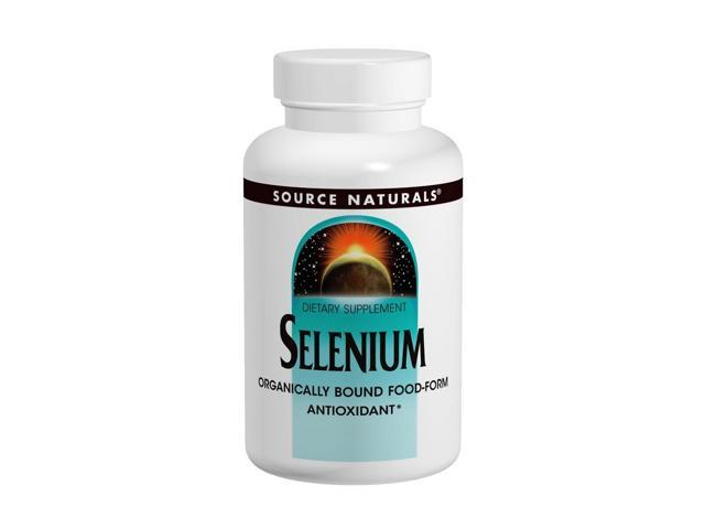 Selenium 100mcg - Source Naturals, Inc. - 100 - Tablet