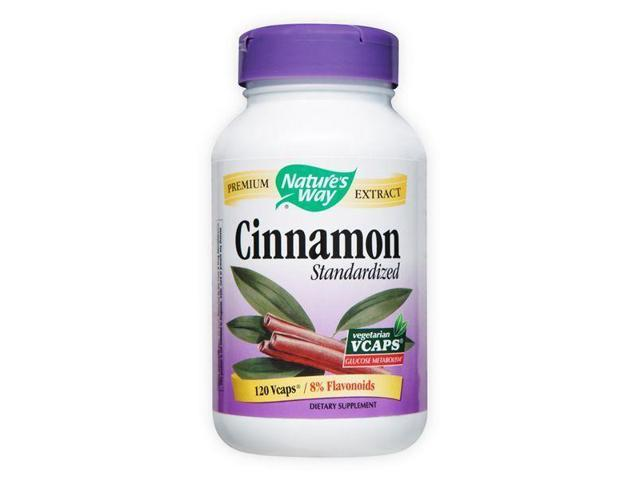 Cinnamon Standardized - Nature's Way - 120 - VegCap