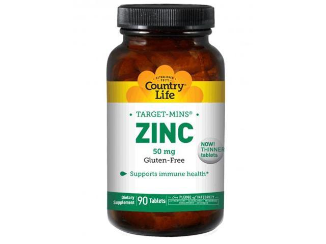 Zinc 50mg - Country Life - 90 - Tablet