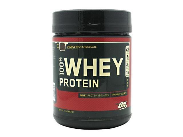 100% Whey Protein - Chocolate - Optimum Nutrition - 1 lbs - Powder