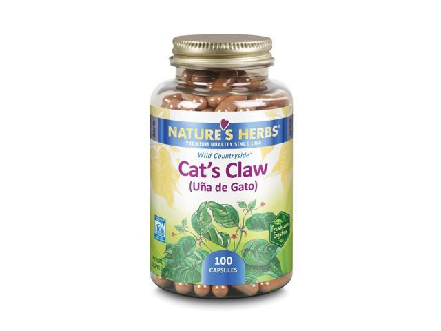 Cats Claw - Nature's Herbs - 100 - Capsule