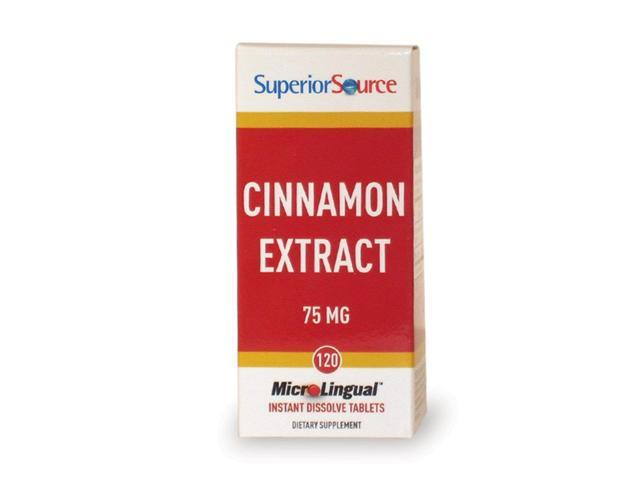 Cinnamon Extract (10:1) 150 mg - Superior Source - 120 - Sublingual Tablet
