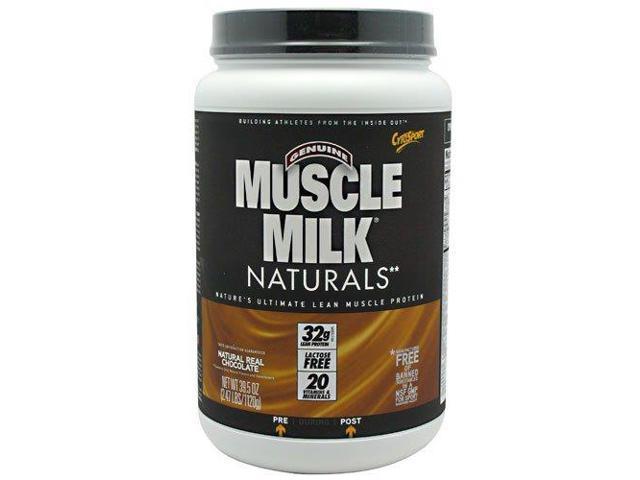 Muscle Milk Naturals Real Chocolate - Cytosport - 2.47 lbs - Powder