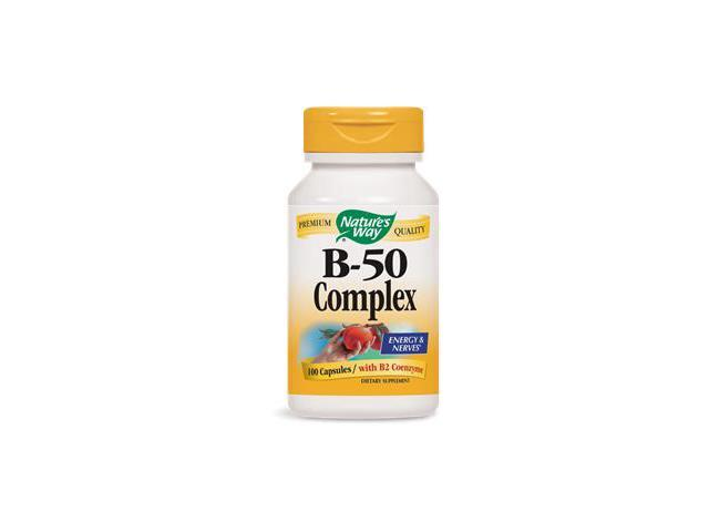 B-50 Complex - Nature's Way - 100 - Capsule