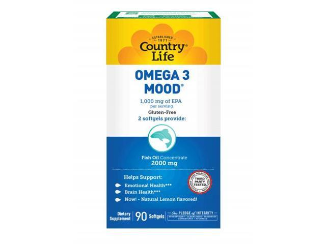 Omega 3 Mood - Country Life - 90 - Softgel