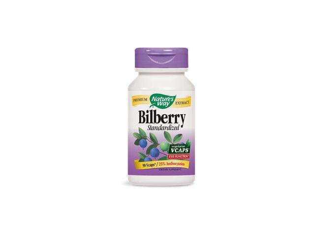 Bilberry - Nature's Way - 90 - VegCap