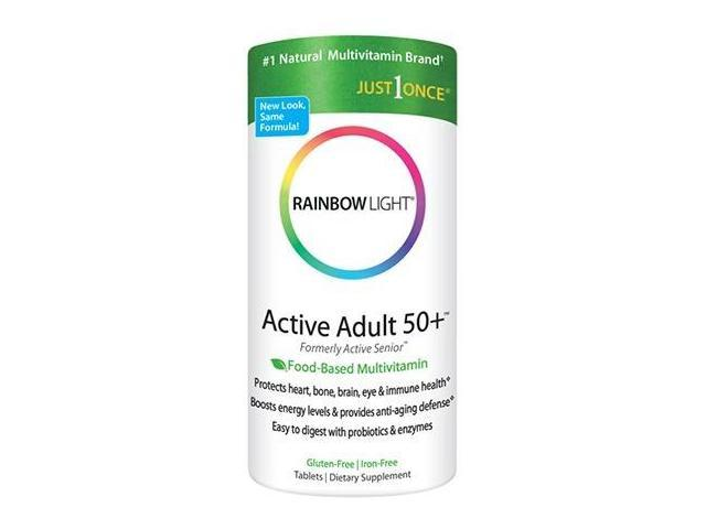 Active Adult 50+ Multivitamin - Rainbow Light - 90 - Tablet