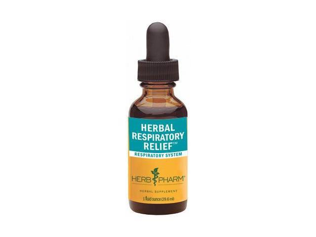 Herbal Respiratory Relief - Herb Pharm - 1 oz - Liquid