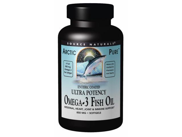 ArticPure Enteric Coated Omega 3 Fish Oil - Source Naturals, Inc. - 30 - Softgel