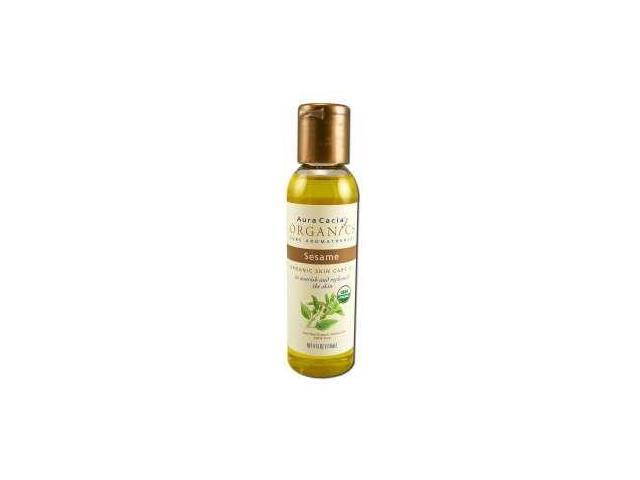 Aura Cacia - Organic Skin Oil Sesame, 4 fl oz liquid