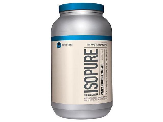 Natural Isopure - Vanilla - Nature's Best - 3 lbs - Powder