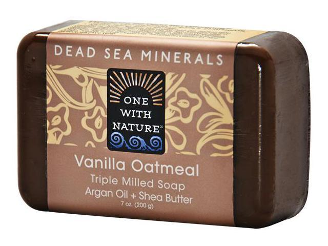 Soap Vanilla Oatmeal - One With Nature - 7 oz - Soap