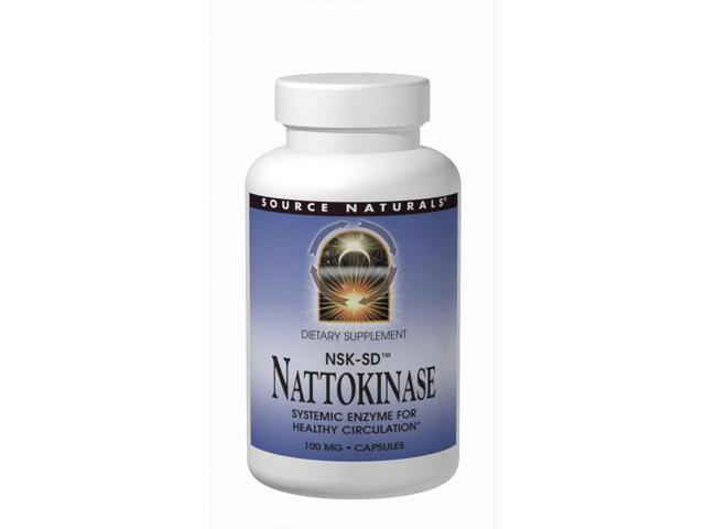Nattokinase 50mg - Source Naturals, Inc. - 60 - Softgel