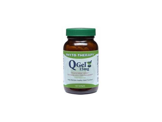 Q Gel 15Mg CoQ10  (Replaces Q-Gel Power RX Co-Q10) - Phyto-Therapy - 120 - Softgel