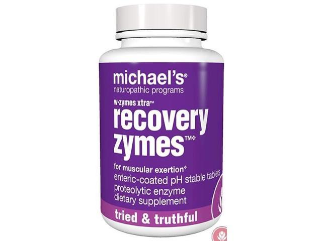 W-Zymes Xtra RecoveryZymes 10x Pancreatin - Michael's Naturopathic - 180 - Tablet
