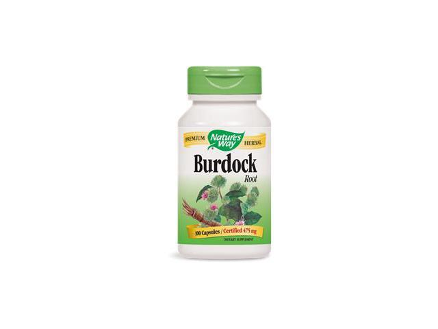 Burdock Root - Nature's Way - 100 - Capsule