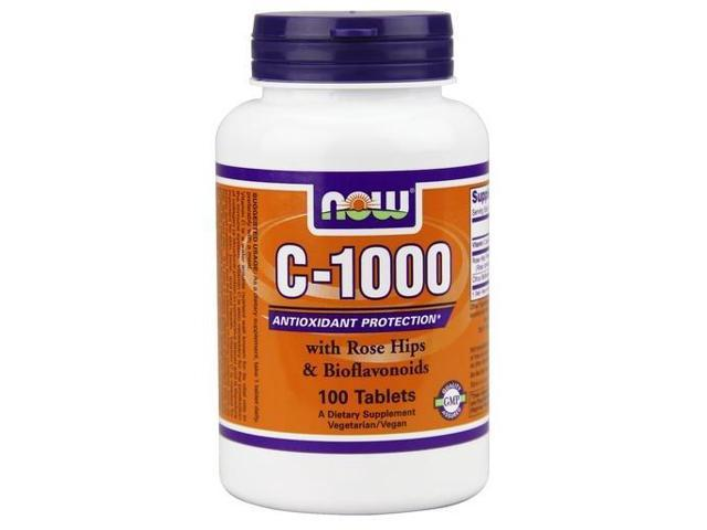 C-1000 With Rose Hips - Now Foods - 100 - Tablet