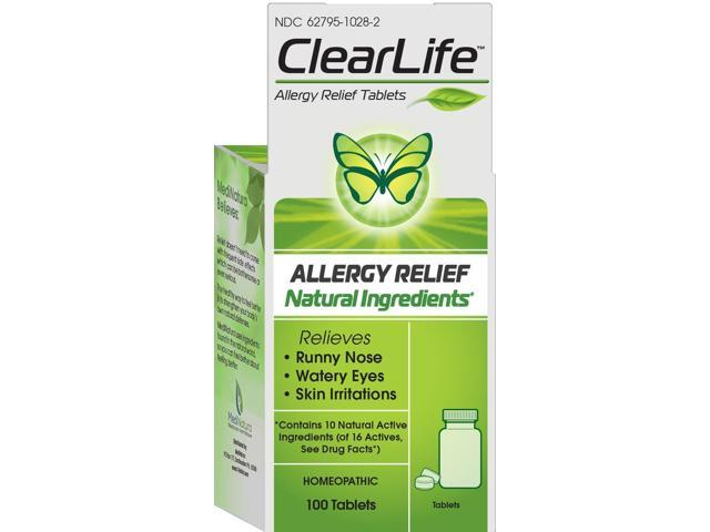 Clearlife Allergy Relief - MediNatura - 60 - Tablet