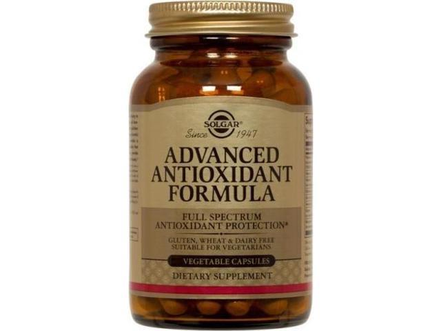 Advanced Antioxidant - Solgar - 120 - VegCap