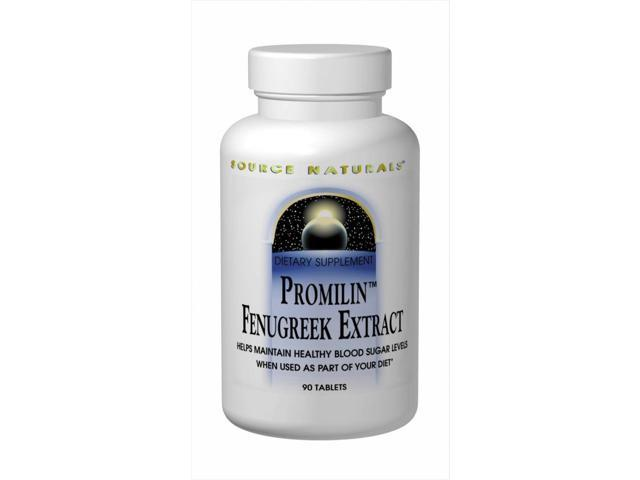 Promilin Fenugreek Extract - Source Naturals, Inc. - 30 - Tablet