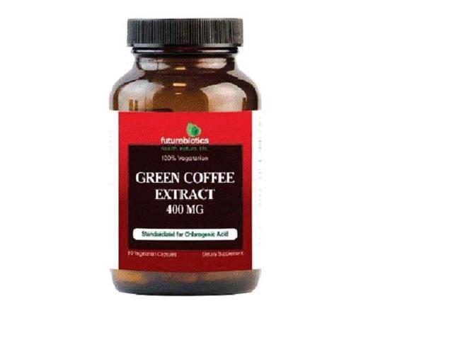 Green Coffee Extract  400 mg - Futurebiotics - 90 - VegCap