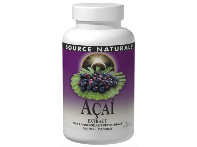 Acai Extract - Source Naturals, Inc. - 240 - VegCap