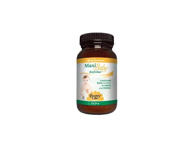 Maxi Baby Dophilus - Country Life - 2 oz - Powder
