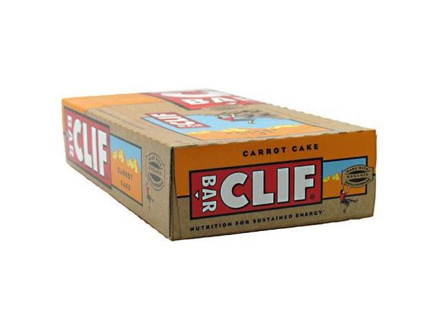 Carrot Cake - Box - Clif Bar - 12 Bars - 1 Box