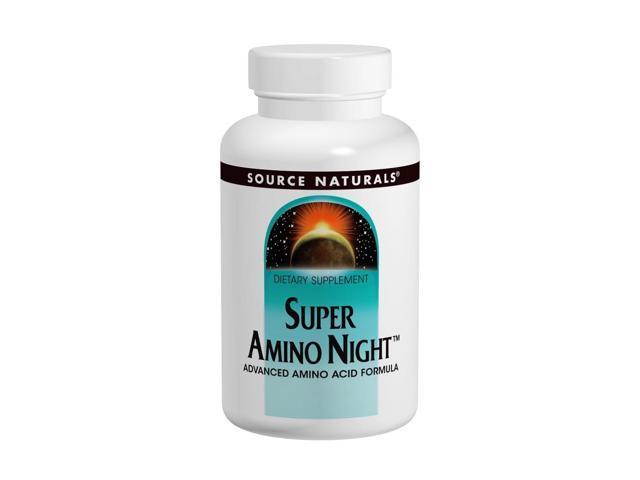 Super Amino Night - Source Naturals, Inc. - 120 - Capsule