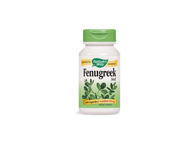 Fenugreek Seed - Nature's Way - 100 - Capsule