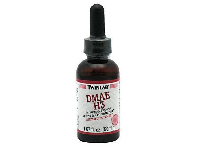 DMAE-H3 (PABA) - Twinlab, Inc - 1.7 oz - Liquid