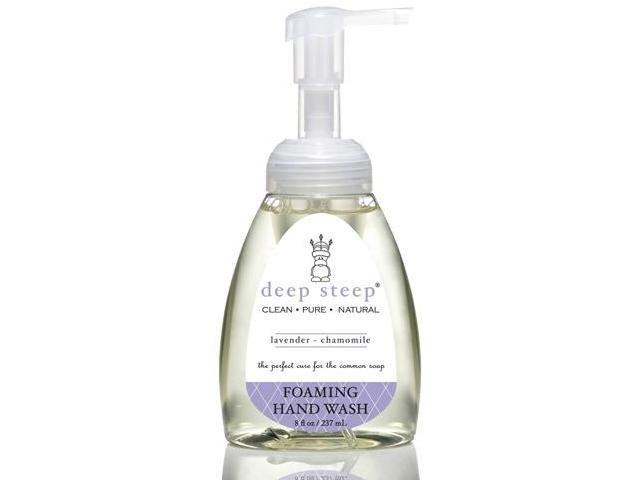 Lavender Chamomile Foaming Handwash - Deep Steep - 8.75 oz - Liquid