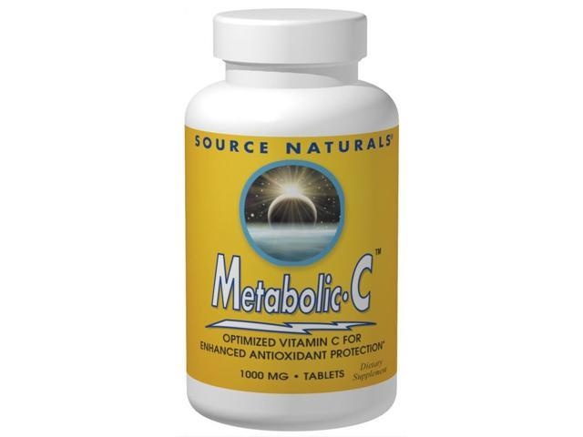 Metabolic C 1000 mg - Source Naturals, Inc. - 50 - Tablet