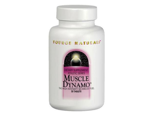 Muscle Dynamo - Source Naturals, Inc. - 60 - Tablet
