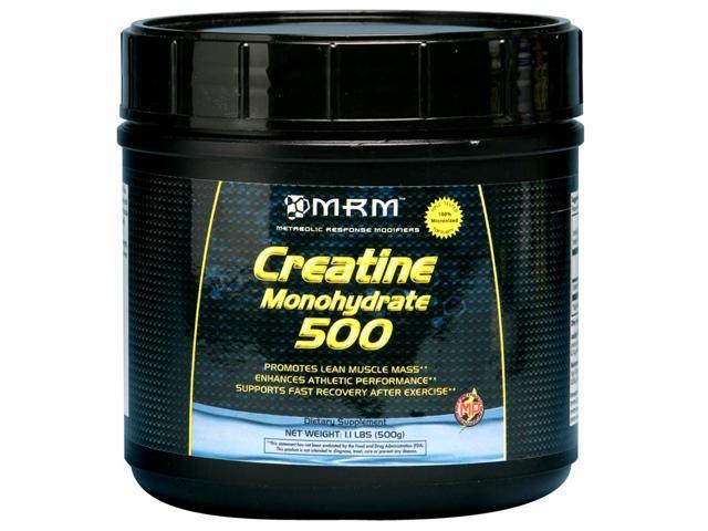 Creatine Monohydrate Powder (Micronized) - MRM (Metabolic Response Modifiers) - 500 g - Powder