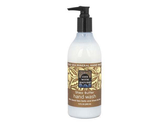 Hand Wash Shea Butter - One With Nature - 12 oz - Liquid