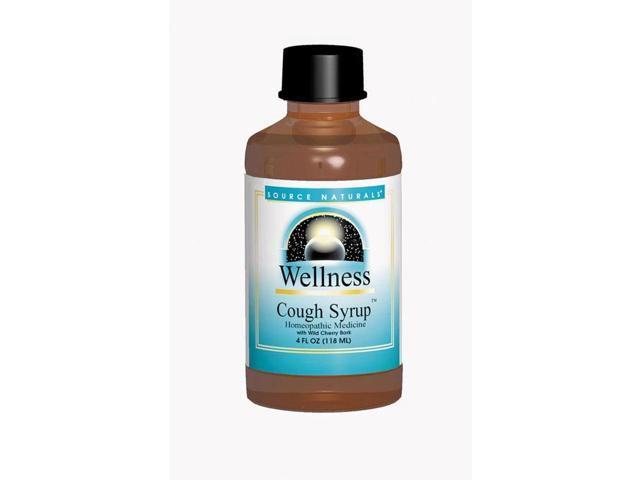 Wellness Cough Syrup - Source Naturals, Inc. - 8 oz - Liquid