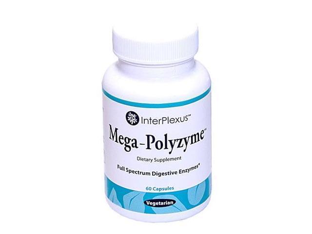 Mega-Polyzyme - InterPlexus Inc. - 60 - Capsule